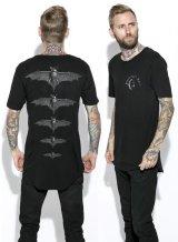 Release The Bats - Unisex Tall Tee【Black Craft】