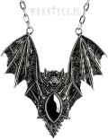 BAT NECKLACE SILVER/ネックレス【Restyle】