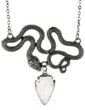 Crystal Snake:ENTWINE /SILVER/ ネックレス【Restyle】