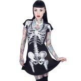 Skeleton / White / ワンピース【KREEPSVILLE 666】