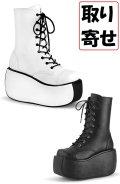 [取り寄せ]VIOLET-120/厚底ブーツ【DEMONIA】
