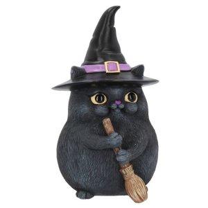 画像1: Lucky Black Cat 12cm / オーナメント【NEMESIS NOW】