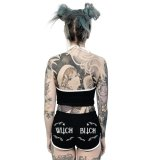 Witch Bitch / ブラック / ホットパンツ【TOO FAST】