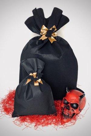 画像1: Black gift wrapping/ギフトラッピング