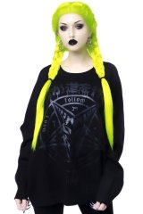 Blazed Out Batwing Sweater / ニットトレーナー【KILL STAR】