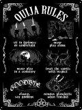 Ouija Board Rules Tin Sign /Mサイズ/ アルミポスター【GRINDSTORE】