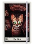 The Devil Cream - Deadly Tarot Felis /cat / A5 / ノート【GRINDSTORE】