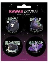 Kawaii Coven Vinyl Sticker Set / cat / ステッカー【GRINDSTORE】