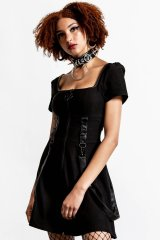 Grave Rebellion Dress / BLACK【KILL STAR】
