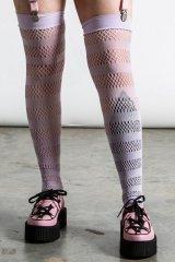 Shena Fishnet Stockings / LILAC【KILL STAR】