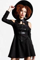 Chaotica Shirt-Dress / BLACK【KILL STAR】